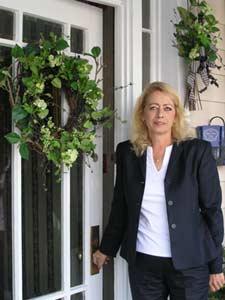 Christine Mullen, resident innkeeper