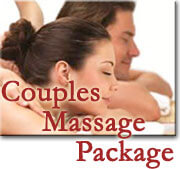 Private couples massage package at Blue Max Inn Bed & Breakfast