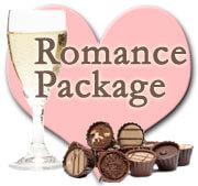The Romance Special for bed and breakfast guests at the Blue Max Inn